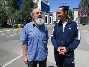 Nenad i njegov sin Bojan